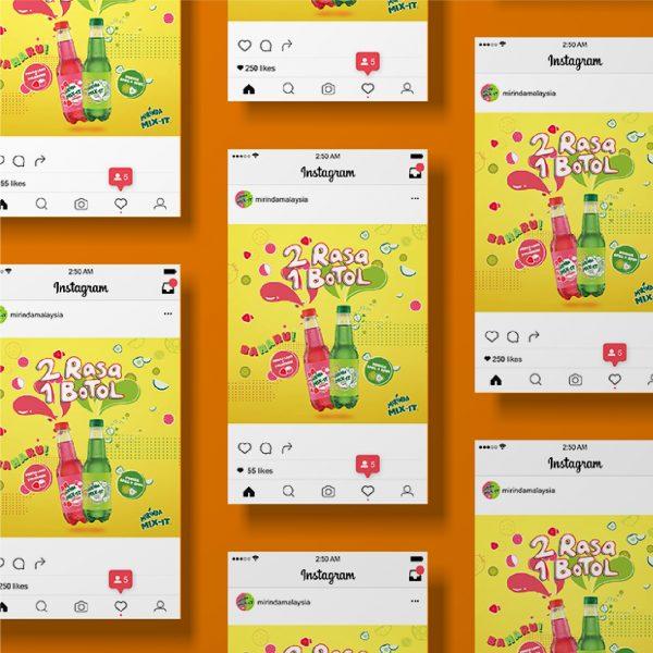 Mirinda Mix It - Graphic Design