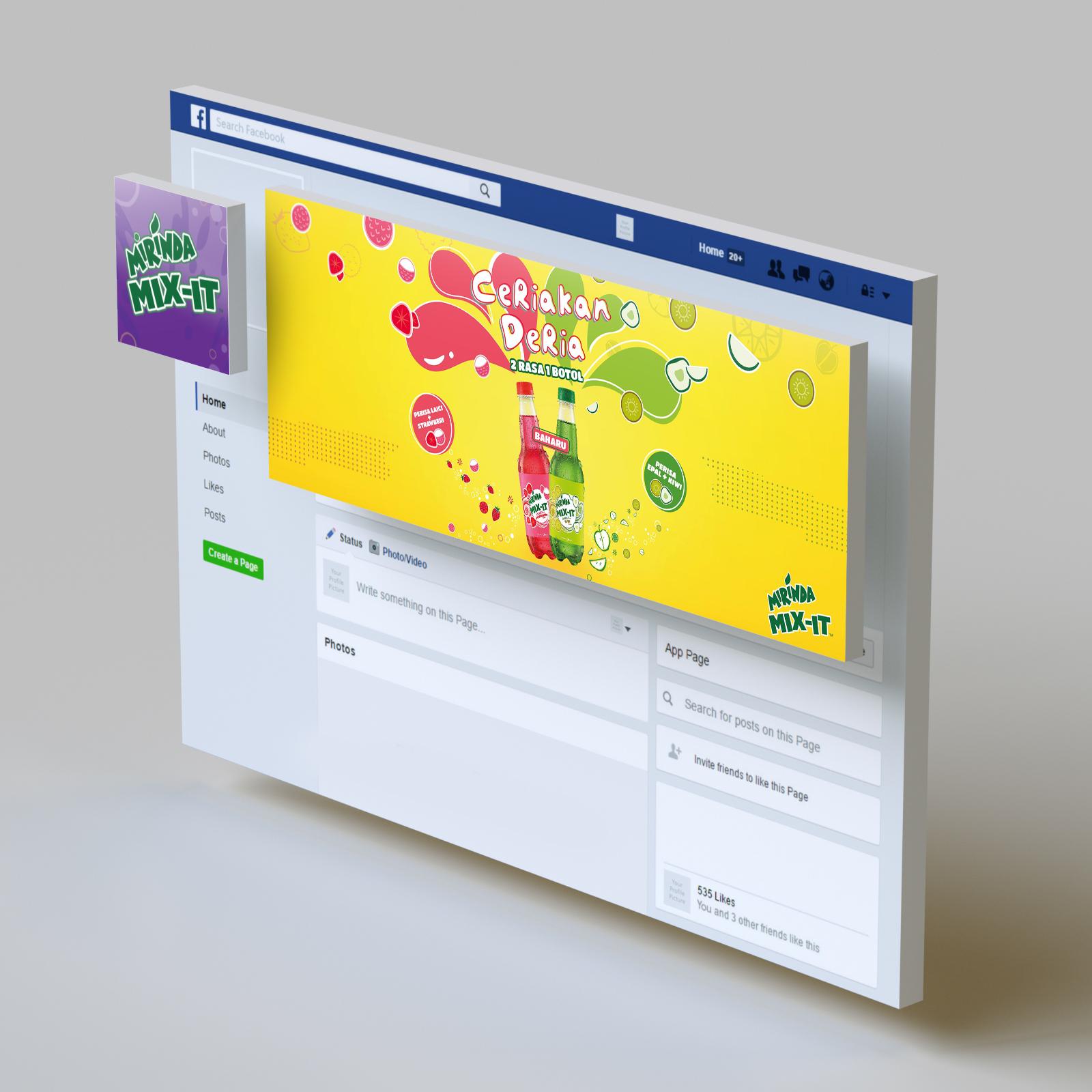 Mirinda Mix It - Social Media Management