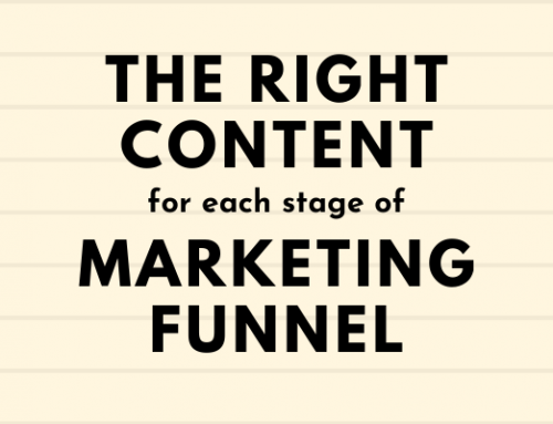The Right Content for Each Stage of the Marketing Funnel: A Friendly Guide