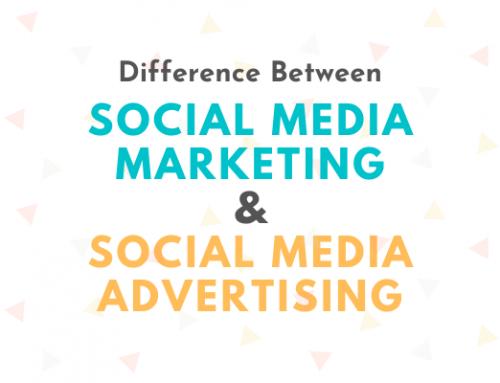Social Media Marketing and Social Media Advertising: How to Tell Them Apart?